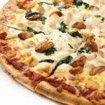 Roasted Garlic Spinach Supreme Pizza